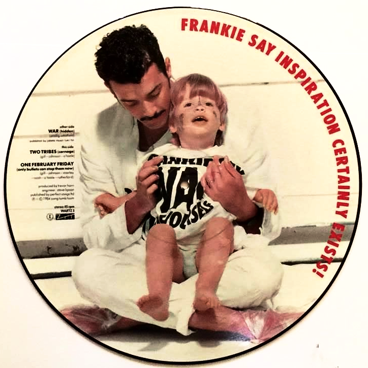 Frankie Goes To Hollywood War Hidden 12 Picture Disc Vg G